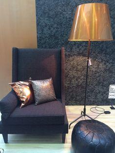 Zwart 3D Behang / Black 3D Wallpaper collection Moods - BN Wallcoverings