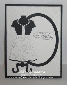 Dress Up by shoogendoorn - Cards and Paper Crafts at Splitcoaststampers