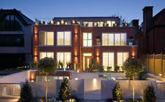 The Villa in Courtenay AvenueLondon,designed by Harrison Varma, is an 11,200 sq ft property, located in a private road with 24/7 guarded security.
