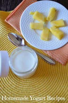 Easy Homemade Yogurt recipes (With Yogurt Maker)