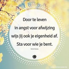 Helemaal jezelf helemaal oke. Happy Quotes, Positive Quotes, Best Quotes, Life Quotes, Dutch Quotes, Yoga Quotes, More Than Words, Note To Self, Psychology