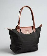 Online Discount Portable Backpack Longchamp Le Pliage Chocolate