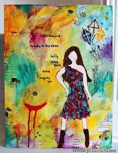 Dare Canvas - by: Ronda Palazzari