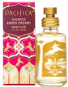 Sugared Amber Dreams a new fragrance, by Pacifica. May your dreams be filled with sparkling sugar, heady vanilla and warm amber. Perfume Names, Clean Perfume, Perfume Versace, Perfume Zara, Perfume Diesel, Hermes Perfume, Products