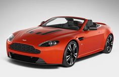 Aston Martin V12 Vantage Roadster - Definitely a different colour
