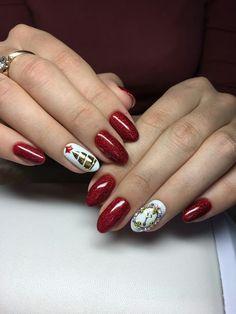 Рожденственские ногти
