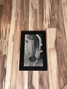 Horse Pictures, Drill, My Etsy Shop, Wood, Frame, Painting, Madeira, Pictures Of Horses, Hole Punch