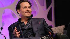 Johnny Depp received the Santa Barbara Film Festival's Maltin Modern Master Award Thursday night.