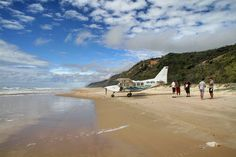 Where we're going we don't need runways. Fraser Island Australia, Queensland Australia, Old Photos, Beach, Water, Instagram Posts, Outdoor, Old Pictures, Gripe Water
