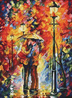 980 Поцелуй под дождём Белоснежка