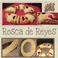 Mi Rosca de Reyes con Harina de Fuerza | Mi segunda Rosca De Reyes (con harina de fuerza) ☆☆Rosca de Reyes con Harina de Fuerza☆☆ De esta receta salen dos roscas del tamaño como en la foto | INGREDIENTES.... ●500 gr de harina de fuerza ('para Pan') cernida ●100 gr de azúcar (1/2 taza) ● 15 gr levadura en polvo (son un poquitín más de 2 cdas) ●150 ml de Agua (tibia) ●25 gr de Leche en Polvo (poco menos de 1/4 taza) ●4 huevos batidos (temp ambiente) ● 10 gr de sal (poco menos de una cucharada)…