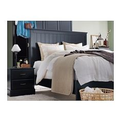 karit bedspread and 2 cushion covers queen king ikea 29 through jun 2 2015 39 minimal. Black Bedroom Furniture Sets. Home Design Ideas