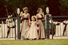 Junior bridesmaids and flower girl!