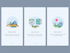 40 Mobile Apps Onboarding Designs for Your Inspiration                                                                                                                                                                                 More