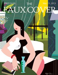 The Faux Cover. Mar. 11 - PingHua Chou Illustration
