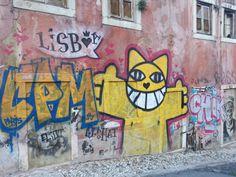 Jamie Lee, Lisbon, Portugal, Street Art, Tours, Culture, City, Pictures, Painting