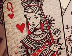 It's Valentine's Day! ❤ let's pin red hearts, and a little mini theme of Alice in Wonderland's Queen of Hearts ❤