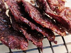 Thai beef jerky: additional ingredients that I normally add include corriander root or corriander seeds and fish sauce.
