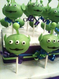 Toy Story cake pops @Joshua Jenkins Wall