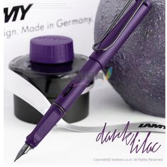 Lamy Safari  Fountain Pen Dark Purple with Original box Special Luxury Pen