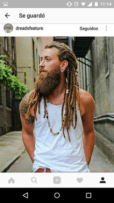 Dreadlocks Rastas Barba Cool tattoo