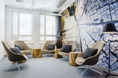Activity based office by Gullstén-Inkinen Design & Architecture, Helsinki – Finland