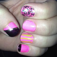 Nails for Shelby's birthday! :)