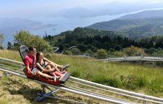 Alpyland is een leuk, klein pretpark boven op de Mottarone bij Stresa aan het Lago Maggiore.