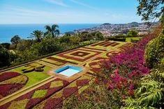 Vistas de Madeira desde Camara de Lobos.