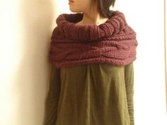 cable neck piece by chai310, via Flickr