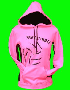 Volleyball Performance Hoodie (PINK)