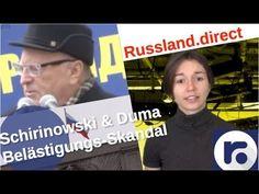 Eskalation: Pressekrieg nach Duma-Belästigungsskandal [Video] – russland.NEWS