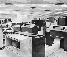 Honeywell Information Systems Series 6000 mainframe computer system, circa 1973 ... Yes, I did work on one of these!