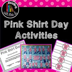 Pink Shirt Day: Students wrote anti-bullying quotes on pink t ...