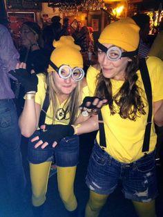 Diy Minion Costume, Minions, Halloween Costumes For Work, Round Sunglasses, Diy Projects, Craft Ideas, Holidays, Fashion, Moda
