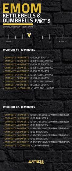 #fitness #dumbbells #kettlebells #wod #workout