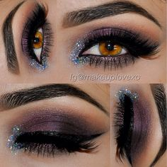 Beautiful makeup for Brown eyes