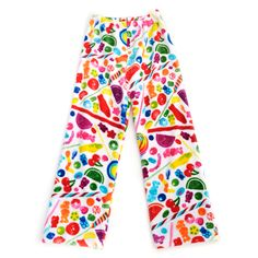 These Dylan's Candy Bar Fuzzy Candy Spill Pants are the perfect gift to make sure your kids are comfortable going back to school! Now in adult sizes, too so you can match!