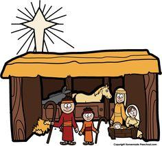 http://www.homemade-preschool.com/Nativity-Clipart.html