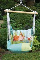 backyard garden swing