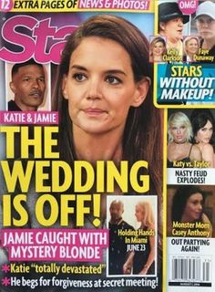 """It looks like Jamie Foxx and Katie Holmes' break-up is the real deal this time. But, can you really """"break-up"""" if you never technically admitted that you..."""