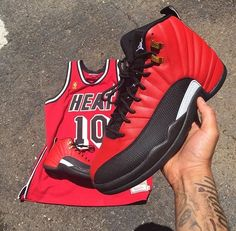 Custom Air Jordan 12 (by: Malcolm_garret) - Love For Kicks