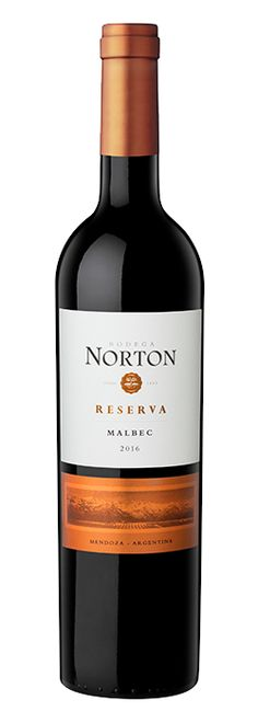 Norton Reserva Malbec from Argentina. A complex red wine with fruity notes Bottle Shoot, Different Wines, Wine Brands, French Oak, In Vino Veritas, Red Wine, Notes, Argentina, Report Cards