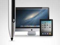 Pressure sensitive stylus for your iMac, iPad & MacBook Pro! by Cregle Inc., via Kickstarter.