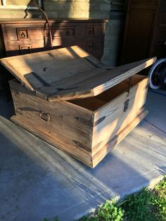 On my to do list, restoration of this chest coffee table.