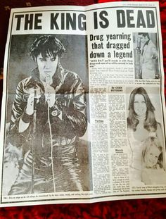 {*I hated the way the press wrote these articles :( Elvis didn't take illegal drugs... Elvis was on perception drugs to help him sleep after the hype ov a Concert who would beable to sleep after those hrs then he needed to beable to get back up & do more concerts for his fans who he Adored so much always took the time for people :) perception drugs can make you put on weight make you hungry at odd times it changes you, it must ov been hard for Elvis when he may ov been feeling dwn but he…