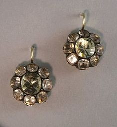"""""""18th century earrings"""""""
