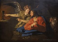 The Agony in the Garden - 54 Paintings of the Passion, Death and Resurrection of Jesus Christ -