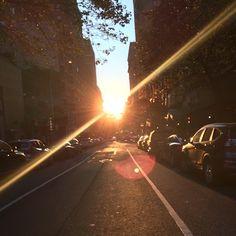 """The magic hour ..."" #summerinthecity #NYC via Arianna Nicole on Facebook 20150629"