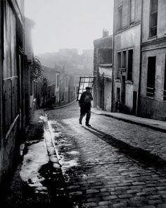 Belleville-Ménilmontant Paris 1947 Willy #Ronis